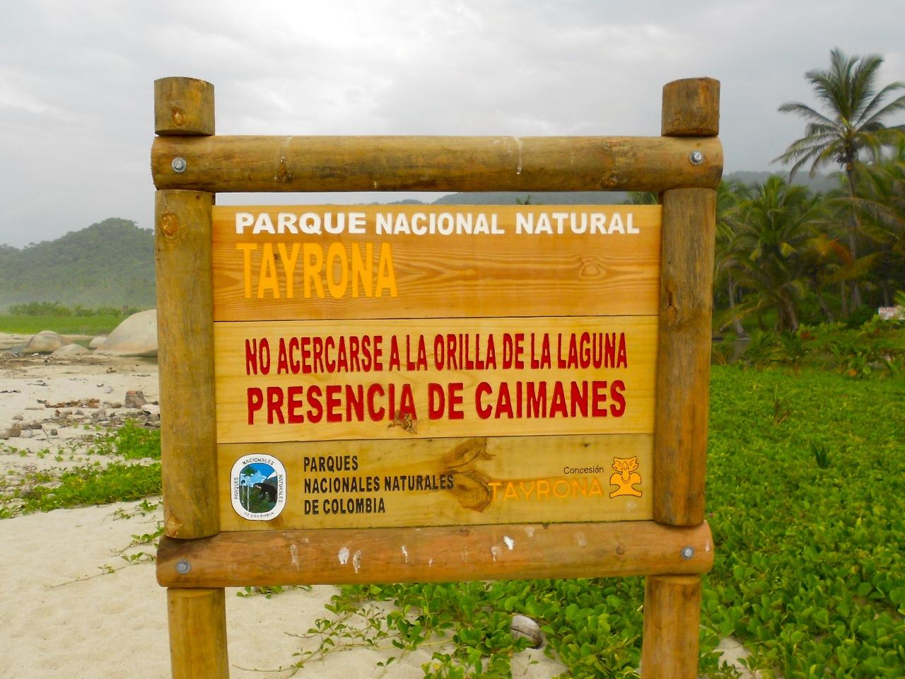 Parco Tayrona Caimanes