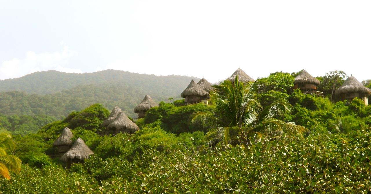 Parque Tayrona eco habs
