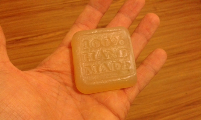 Permacultura, sapone fatto a mano