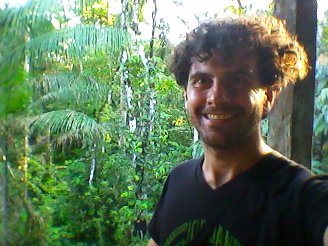 Elvio in Amazzonia