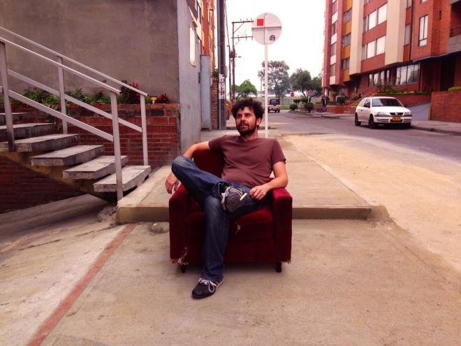 Relax per la strada a Bogotá
