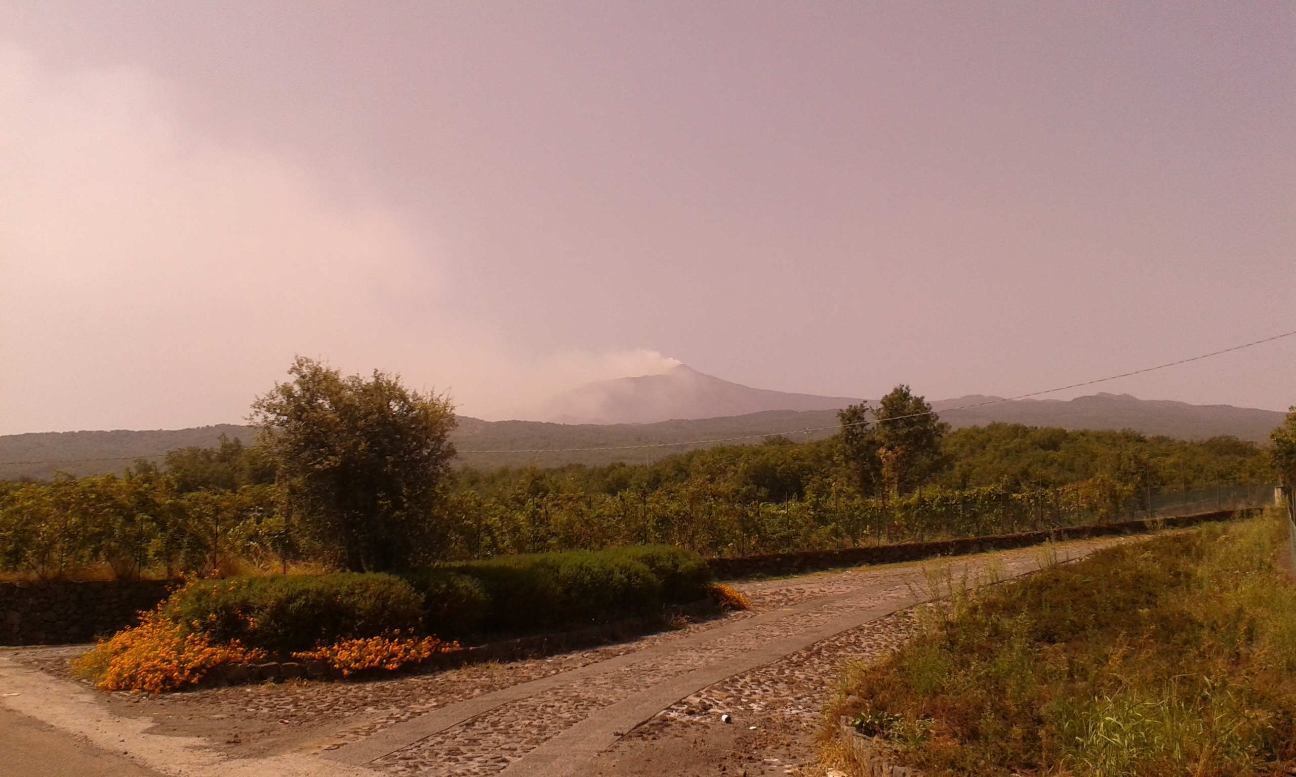 Etna, fumo