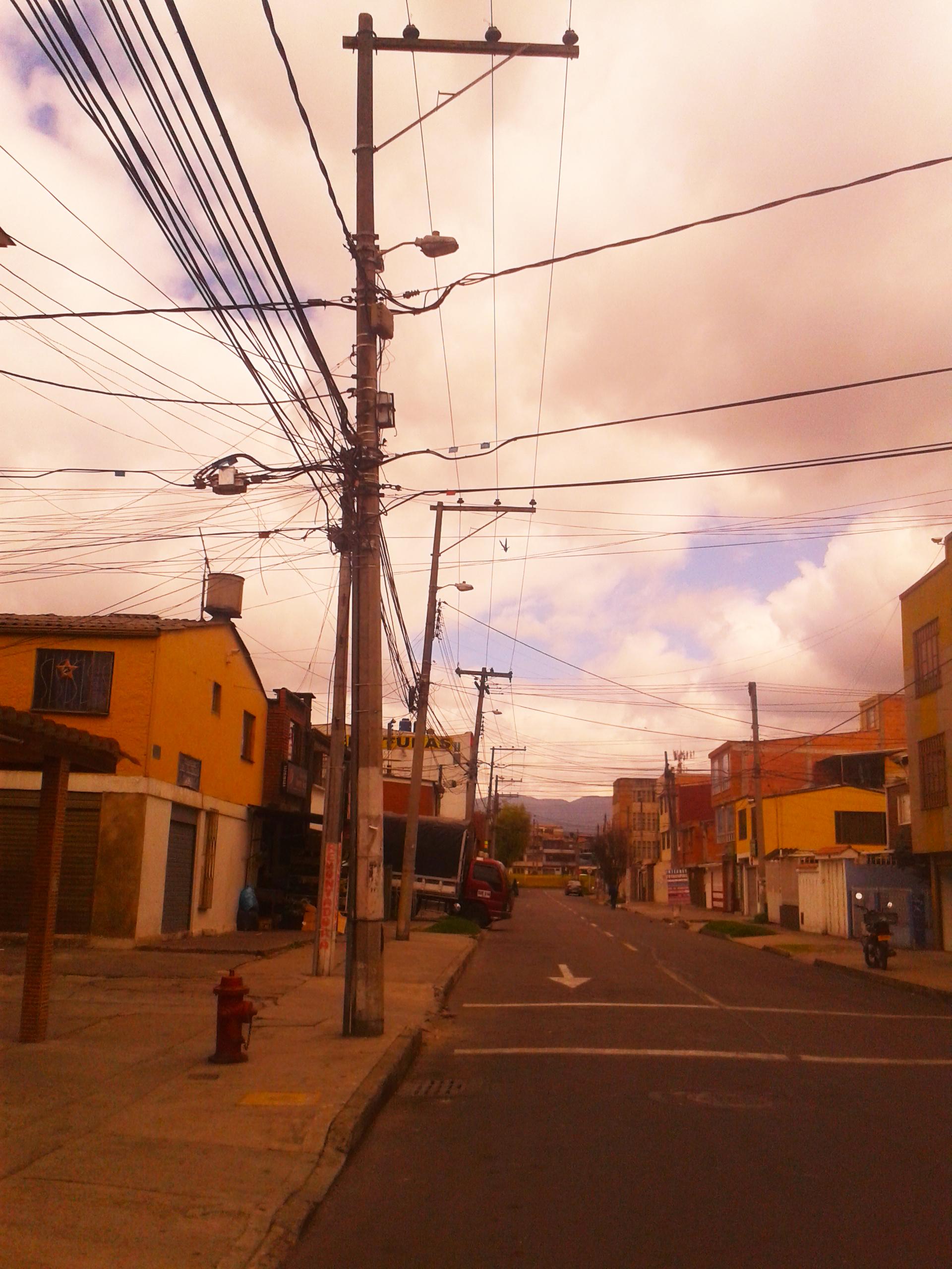 Cavi elettrici Bogotà Blog spiragli di luce crescita personale