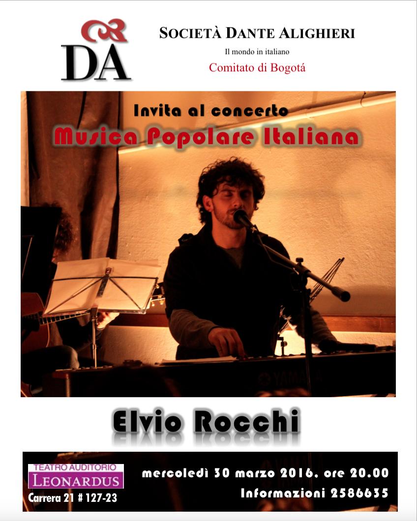 Concerto Elvio Rocchi Cantautori Musica Italiana, musica popolare Bogotà .png