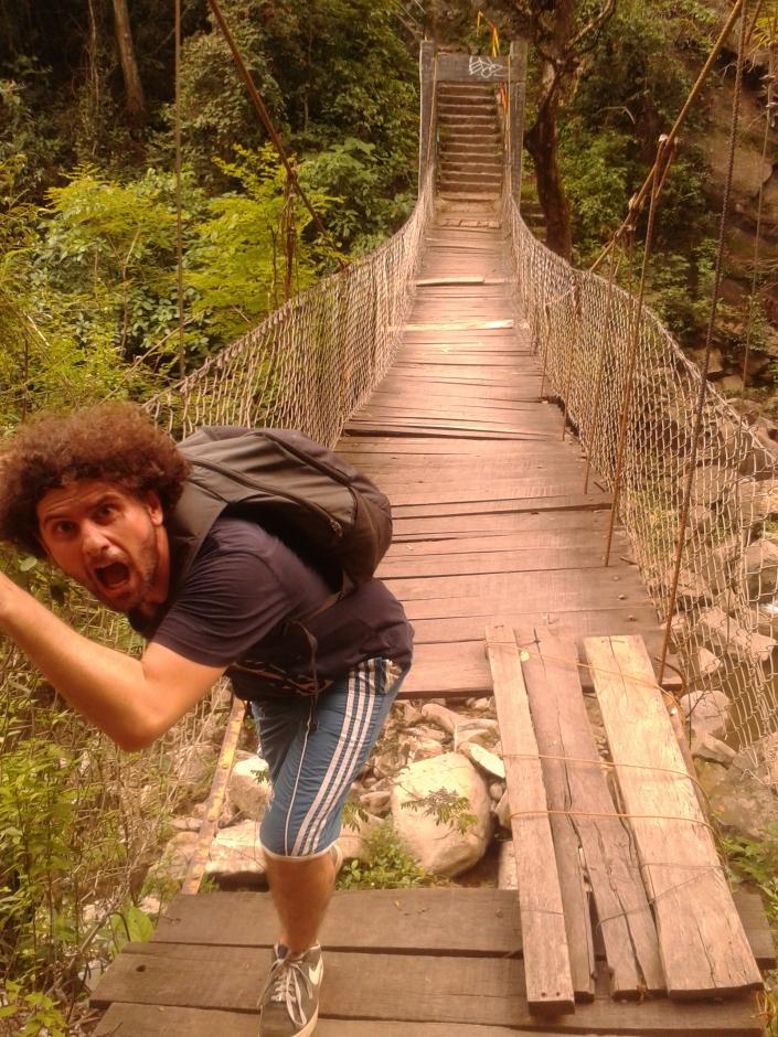 crescita personale sport estremi attraversamento ponti sospesi colombia spiragli di luce blog