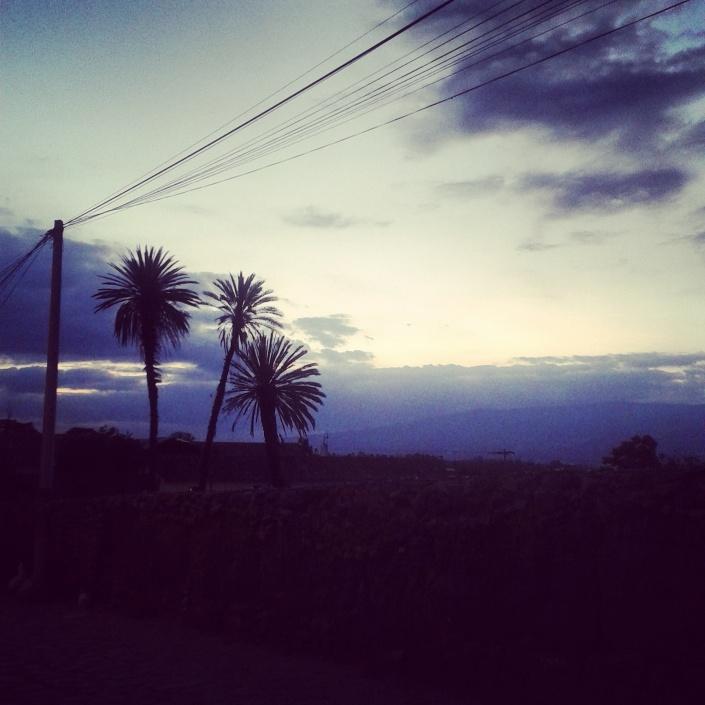 blog crescita personale meditazione spiragli di luce tramonto
